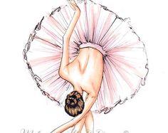 The Ballerina (Fashion Illustration Print) (Fashion Illustration Art - Fashion S.- The Ballerina (Fashion Illustration Print) (Fashion Illustration Art – Fashion Sketch prints – Home Decor – Wall Decor ) – Ballet Dancer Drawing, Art Ballet, Ballerina Drawing, Ballet Drawings, Ballet Painting, Dancing Drawings, Art Drawings, Ballet Dancers, Art And Illustration
