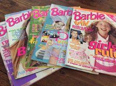 5 X Barbie Magazine Book Used Leonardo DiCaprio Poster Natalie Imbruglia