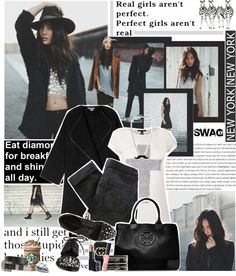 """""""Real Girls are not perfect. Perfect Girls are not real."""" by edenslove on Polyvore"""