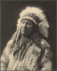 vintage everyday: Old Portraits of Native Americans by Frank A. Rinehart