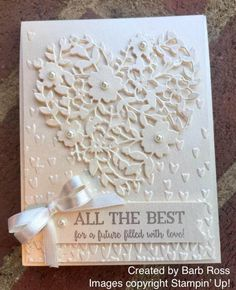 I'm sharing a few projects created by some of my very talented Stampin' Up! team members with you all again today.