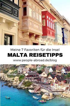 Malta Urlaub: Meine 7 Favoriten & Reisetipps #reisen #urlaub #malta #reiseinspirationen #reiseziele Malta Vacation, Travel Destinations, Travel Tips, Reisen In Europa, Travel Companies, Travel Around The World, Continents, Traveling By Yourself, Road Trip