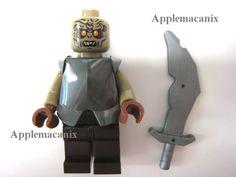 NEW Lego Lord of the Rings 79008 Ship Ambush Mordor Orc Minifigure w/Armor/Sword #LEGO