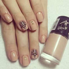 Uñas decoradas con mándalas Gel Nail Art, Acrylic Nails, Nail Polish, Classy Nails, Stylish Nails, Hair And Nails, My Nails, Nagel Hacks, Nails Today