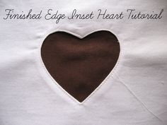 Pickup Some Creativity: Creating an inset heart with finished edge tutorial