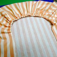 Cornwellness: Portable Crib Sheet Tutorial - Super Easy!   baby stuff    Pinterest   Crib sheets, Portable crib and Tutorials