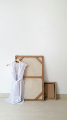 White on white | sack dress