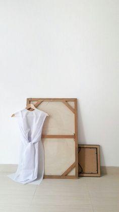 White on white | sack dress