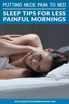 Putting Neck Pain to Bed: Sleep Tips for Less Painful Mornings - Upper Cervical Awareness # relieve neck pain Putting Neck Pain to Bed: Sleep Tips for Less Painful Mornings - Upper Cervical Awareness Shoulder Pain Relief, Neck And Shoulder Pain, Neck And Back Pain, Sore Neck And Shoulders, Shoulder Tension, Neck Exercises, Shoulder Exercises, Stiff Neck Relief, Jaw Pain