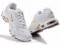 premium selection ec0ba 8fa56 nike tn 2013 Nike Air Max Tn, Gold Tees, Nike Kicks, All White