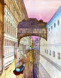 Moebius (Jean Giraud), Venice