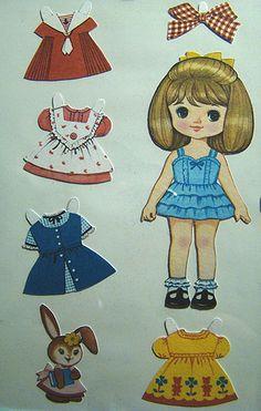 Paper dolls...I loved them!