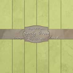 Spring Green digital paper pack created using a grunge effect.  $3.95  #digital paper, #grunge, #texture, #download, #green, #scrapbooking, #background, #card making