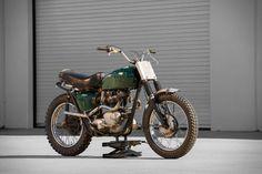 Steve McQueen's 1963 Triumph Bonneville Motorcycle