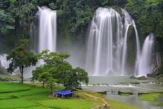 Trekking und Radreisen in Vietnam .