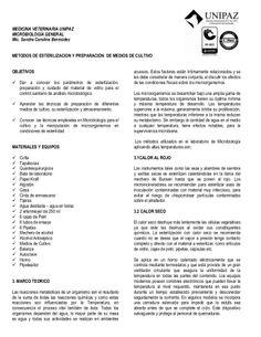 Preparación y esterilización de medios de cultivo by LuisNoche via slideshare