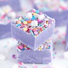My favorite recipe for Unicorn Fudge. Full details at www.sprinklesforbreakfast.com