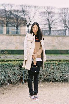 Paris Fashion Week AW 2012 |  Vanessa Jackman: Caroline Issa