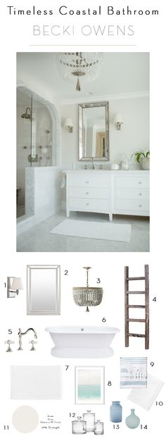 Classic choices made in this timeless bathroom design have ensured that it still feels fresh. Here are seven elements for a timeless bathroom.
