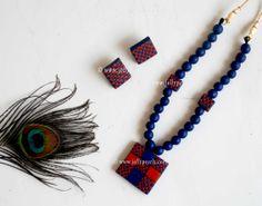 Terracotta Jewellery - JellyPearls Terracotta Jewellery Making, Terracotta Jewellery Designs, Funky Jewelry, Clay Jewelry, Handmade Jewelry, South Indian Wedding Hairstyles, Teracotta Jewellery, Latest Jewellery, Mandala Design