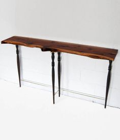 """Delicate. DON HOWELL """"CEDAR + SPINDLE CONSOLE """" 2012"""
