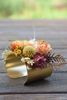 Prom Corsage And Boutonniere, Wrist Corsage Wedding, Corsages, Prom Flowers, Wedding Flowers, Brass Cuff, Polymer Clay Flowers, Wedding Pins, Fresh Flowers