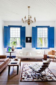 decorating with indigo blue. / sfgirlbybay