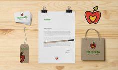 Marca e Id para Natureto Hortifruti | Analu Louise on Behance