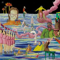 is an album recorded by South Korean indie band hyukoh. It was released on May 2015 by Loen Entertainment. Track List Settled Down 와리가리 Comes and Goes Album Design, Music Covers, Album Covers, Conception Album, Pochette Album, Pop Collection, Principles Of Art, Painting People, Album Songs