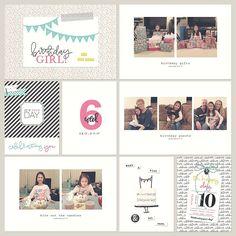 Project Life Week 6 (February 6 - February 11) | Nicole Lynn Photography #nicolelynnphotography #digitalscrapbooking #paisleepress #templates #ohhappyday #simplistic #minimalist #projectlife #dixonpl2017