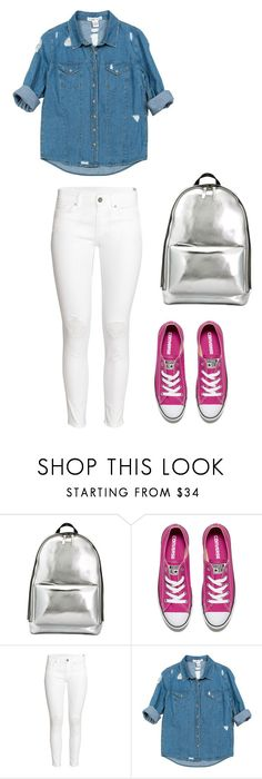 """""""School ~"""" by maja-20 ❤ liked on Polyvore featuring 3.1 Phillip Lim, Converse, H&M and Sans Souci"""