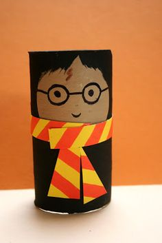 Toilet paper roll TP tube ... HARRY POTTER