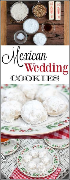 Mexican wedding cook