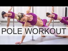 Pole Dancing Workout Routine VOL.1 / LEVEL 1 - YouTube