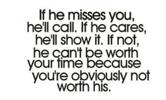 What are you worth to him...