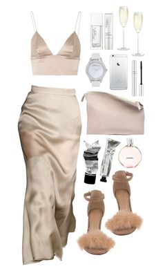 NEUTRAL by mimiih on Polyvore featuring T By Alexander Wang, Sabrina Zeng, Marc by Marc Jacobs, Zelens, Chanel, Aesop, NARS Cosmetics and Crate and Barrel