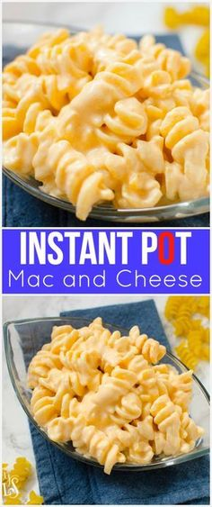Creamy Instant Pot Mac and Cheese Recipe - Family Fresh Meals recipe!