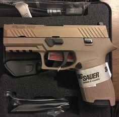 Sig Sauer P230 Handgun #pistol #firearm #flatdarkearth Find our speedloader now! http://www.amazon.com/shops/raeind