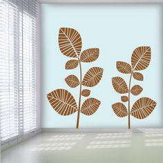 Folhas Zebra em vinil autocolante decorativo. Aplique esta imagem em qualquer superfície lisa (paredes, portas, janelas, mobílias, chuveiro de casa de banho, etc.) e decore a casa a seu gosto. Disponível em 3 tamanhos para que se adapte na perfeição no local desejado. www.iconstore.pt