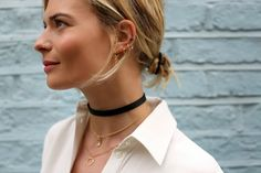 MONTREAL IN STYLE: INSPIRATION: 90'S CHOKERS