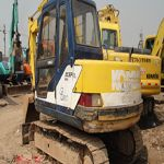 Used Komatsu excavator pcGD623 is a typical used excavator sole well in Jiangchun. It is in good condition an...