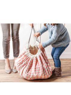 Play & Go – Playmat + Storage Bag, diamond pink | anni bazaar