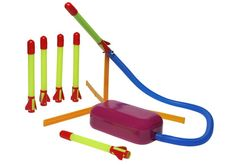Best Birthday Gift EVER for a 3 - 6 year old boy!  Stomp Rockets are loads of fun, take a little excercise, and my son loves his!