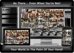 CCTV Wireless Remote Viewing
