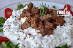 Ali Nazik Kebabı Tarifi nasıl yapılır? 20.849 kişinin defterindeki Ali Nazik Kebabı Tarifi'nin resimli anlatımı ve deneyenlerin fotoğrafları burada. Yazar: Elif Atalar