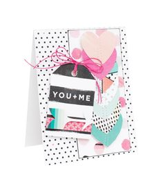 Lovely Projects featuring the NEW Hello Love Collection from Crate Paper - Scrapbook.com