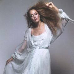 Jerry Hall rocking it.... The 70s- just inspiring fashion-wise!