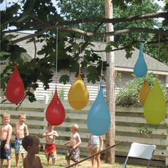 water balloon pinata
