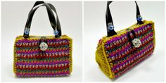 Crochet Dynamite: Co-Worker of the Bride Purse!