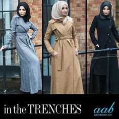 For those days when you're feeling lazy, but want to be  fashionable. Trench coats are  perfect!